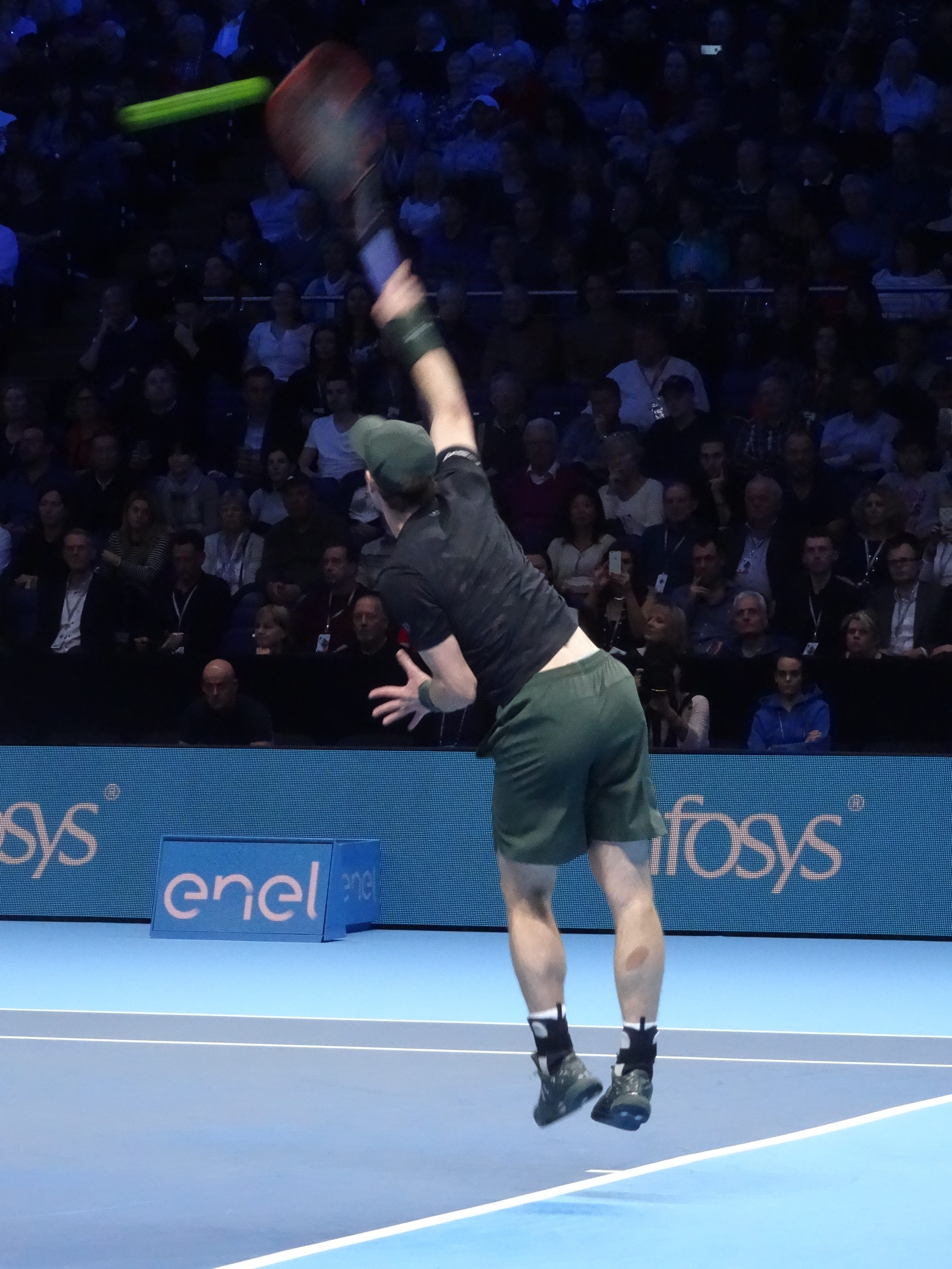 Group Second Place - Andy Murray ATP World Tour Finals, O2 by St.John Burkett