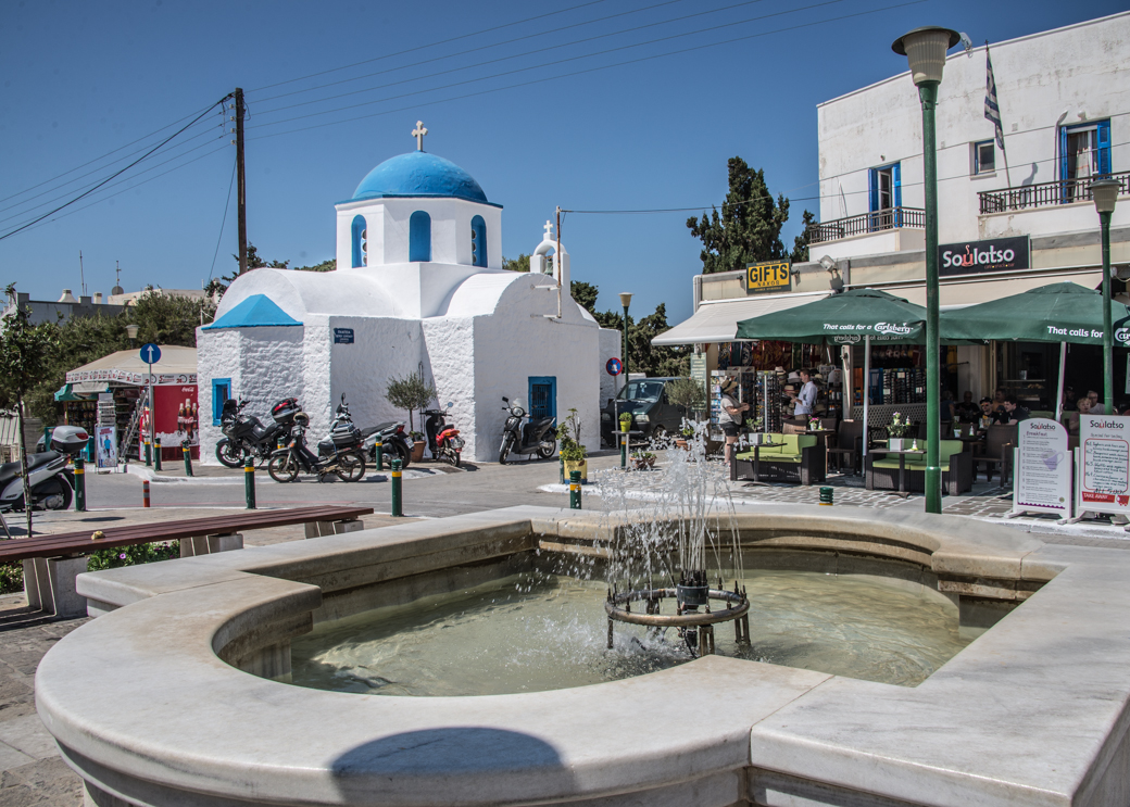 Greek-Village-Square-by-Sue-West_