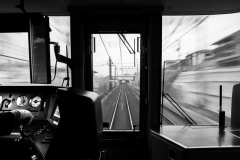 Individual First Place - The local train, Kobe, Japan by Tom Carhill